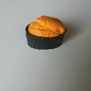 Factory supply fake  Sea Urchin sushi for decoration