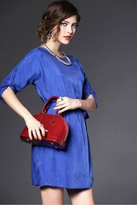 Fashion women career professional dresses work dress design