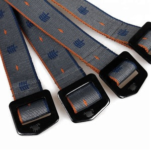 Fashion woven fabric plastic buckle Canvas braided Belts