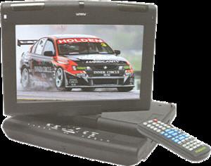 Fusion Fav-10p In-car/Portable DVD/VCD/MP3/FM/TV Player