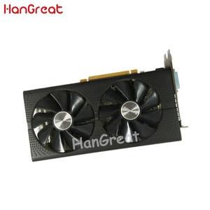 HanGreat Used Graphics card  gpu miner XFX 570 RX 470 RX570 580 4GB