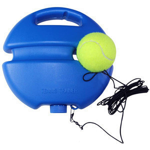 IANONI PE circular base rebound solo tennis trainer set with rope
