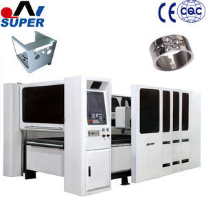 Industrial CNC Metal Fiber Laser Equipment For Cutting Rich Shapes