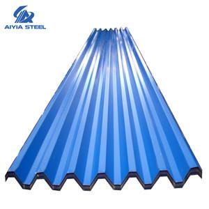 Kenya building materials transparent  color coated Steel Tile  soundproof roofing