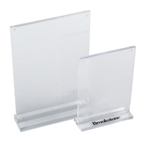Modern elegant smooth surface clear magnetic handmade acrylic photo frames