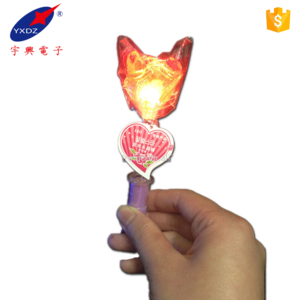 New Design Fashion Electric Glow Lollipop Stick candy toys