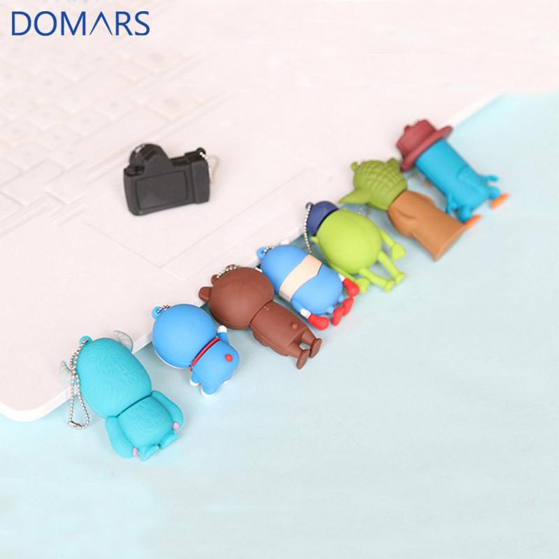 New Sale Cartoon Gifts Mini Cartoon USB Flash Drive 16GB Cute Design