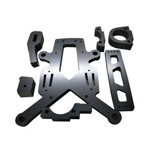OEM carbon fiber  cnc cutting accessories parts