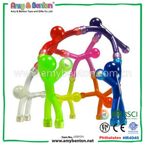 Office Supply Novelty Items Toy Mini Flexible Q-Man Magnets Magnetic