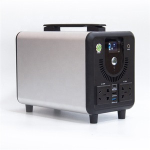 Portable And Versatile Power Station 432Wh Pure Sine Wave AC Outlet 110V(220V) 500W Max