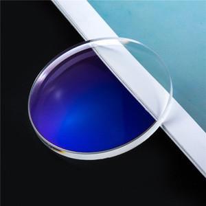 Price of Glasses Lenses 1.56 Blue Light Protect Lenses Blue Control Single Vision Optical Lenses