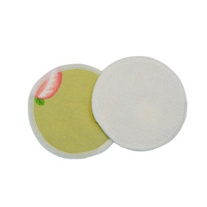 Reusable Bamboo Cotton Makeup Remover Washable Pads with Printing for Face & Eye