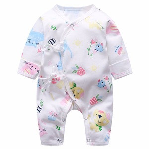 Rompers Product Type and Infants & Toddlers Age Group Pure Cotton Baby Rompers Wholesale Baby Clothes