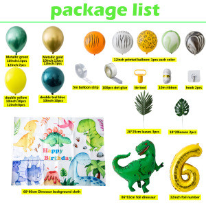 Thicken metal latex balloon for birthday party decorations wedding gifts party balloon set
