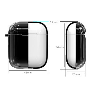 Wireless Earphone Case For Airpods 1 2 Anti-lost Shining Case For AirPods Protective Cover Skin Headphone Accessories