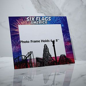 Acrylic photo frame studio glass plastic 6 7 inch creative photo frame manufacturer wholesale