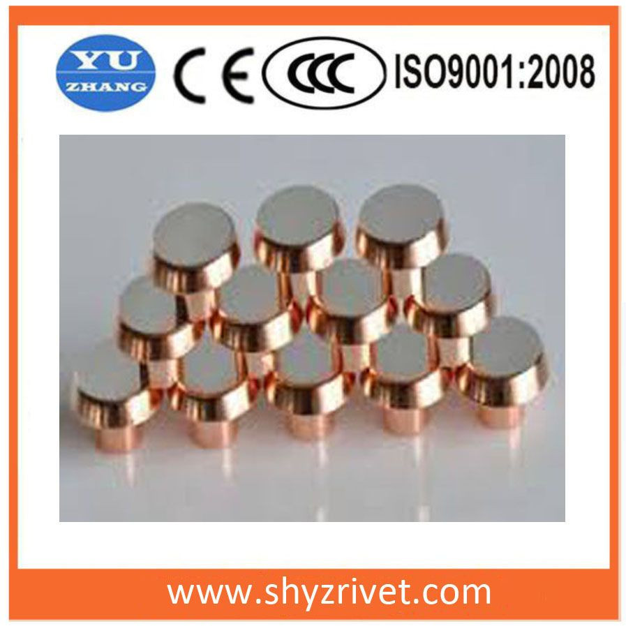Electrical part contact for relay