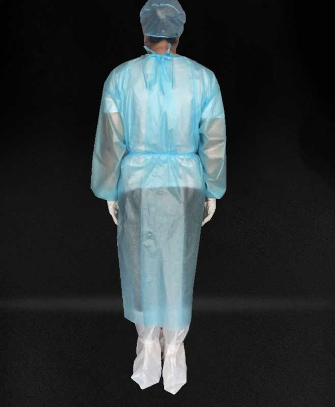 Non medical disposable protective gowns