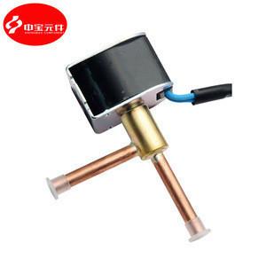 110-240V Brass FDF2A 4A 6A 2 Ways Dehumidifier Solenoid Valve