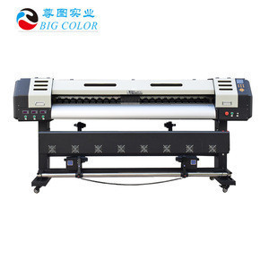 1.9m 6ft dye sublimation machine printer for printing transfer paper textile clothes 3  EPS ON head industry printerhead