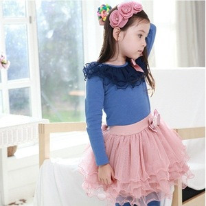 2015 New Products fashion Child Girls Tops Kids Clothes For Wholesale