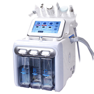 2020 Hot Sale !!!!! H2O2 6 in 1 facial hydro dermabrasion equipment with 1 years warranty