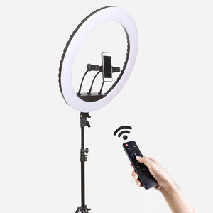 21inch 3 Modes Brightness Levels Adjustment 540 Led Tripod Stand Cell Phone Holder Makeup Video Photography Selfie Ring Light
