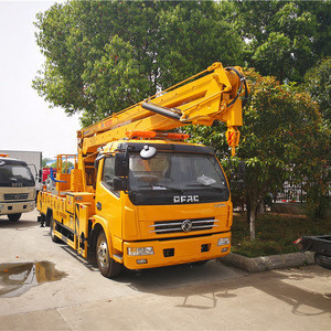 4x2 dongfeng single cab 18 meters high altitude operation truck