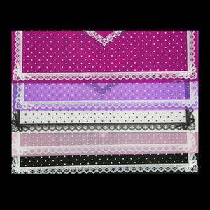 5 Colors Nail Silicone Table Mat Pad Heart Shape Foldable Washable mat nail polish remover pad