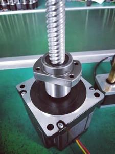86HB65 1.8 Degree Ball Screw Set Shaft OEM Customized Motor Building Lead Food Double Energy Plant Thread