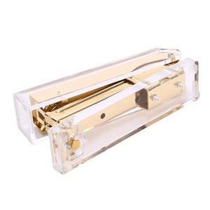Acrylic Stapler Fits Full Strip of Standard Size Staples