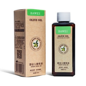 BAWEI 100ml Natural Baby Oil Baby Pure Olive Essential Massage Oil Nourishing Baby Skin Care for Sensitive Skin