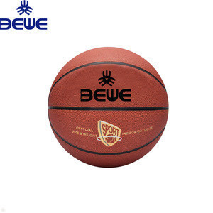 Brand New Customized High Quality Leather Basketball Ball