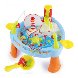 Cheap Electric fishing game toy for educational kids magnetic fish toys for kids