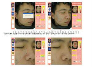 DT-01 Portable skin scanner analyzer+ skin test system