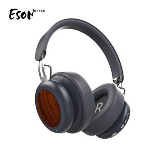Eson Style electronic cell phone accessories active noise cancelling Wireless earphone headband over ear Bluetooth headphone