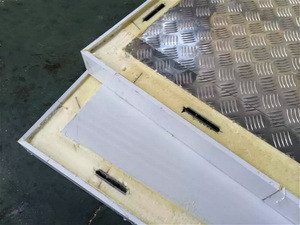 Fireproof painted steel surface chiller cool frozen room board panel