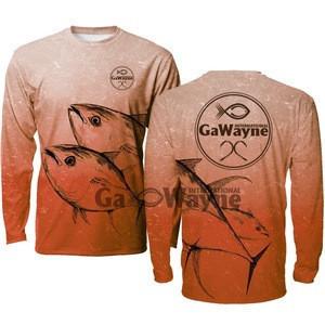 Fishing performance shirts  Tuna Fishing shirts fishing tshirts