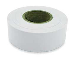 Flagging Tape White 300 ft x 1-3/16 In