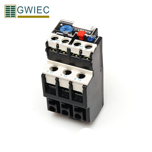 GWIEC Wenzhou Best Price Electrical Motor Thermal Relay 0.4A CE Certificate Protective Relay