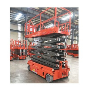 High quality self propelled electric scissor lifts air work platform