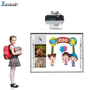 Hot selling Dual touch China interactive whiteboard classroom digital writing board smart board for school teaching