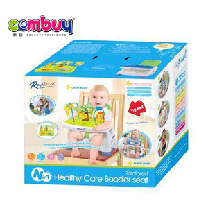 Latest fashion 2 in 1 easy to carry baby dining table and chair