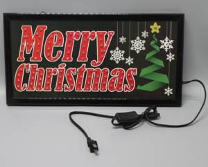 Led Advertising Board open flashing billboard door display sign and Luminous word billboard with open and closed