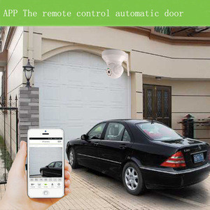 Mobile phone remote control automatic door