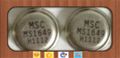 MS1649 TO-39 IC Microwave transistors UHF class C mobile applications new sale