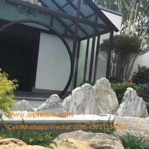 Natural granite made landscaping garden stones