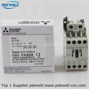 New original Mitsubishi Magnetic Contactors S-T10 AC200-220V AC380-440V AC100-240V 50/60Hz