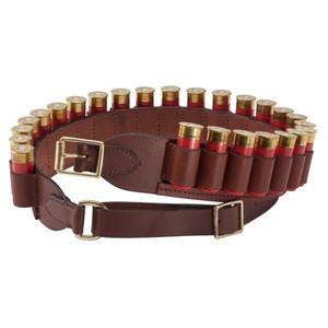 OEM Hunting Cartridge Belt, Genuine Cow Leather Ammo Cartridge Belts