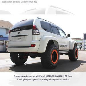 Premium Customised used Landcruiser PRADO 120 6 inch lift up for export